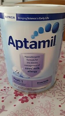 Aptamil Pepti 1 Formula for cows milk allergy (CMPA) 800g NEW AND SEALED