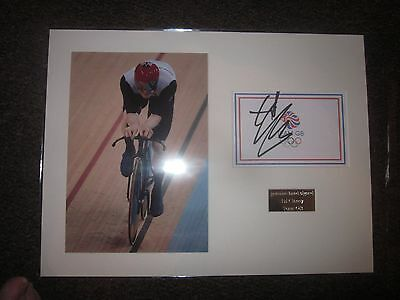 Other Olympic Memorabilia Ed Clancy Hand Signed Olympics 12x8 Photo. Olympic Memorabilia