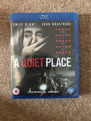 A Quiet Place - Blu-Ray - NEW AND SEALED