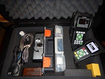 Complete Ultrasonics Ndt Flaw Detector/thickness Gauge Kit