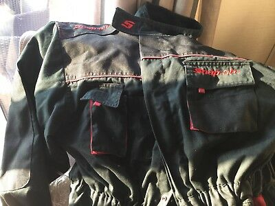 Large Snap On Overalls