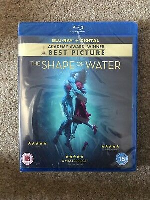 The Shape Of Water - Blu Ray & Digital Download, 2018
