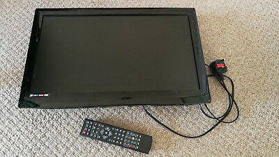 """Tesco 22"""" / 21.6"""" Inch HD LCD TV 22-229 With Built-in DVD Player Incl Remote"""