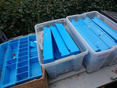 Lin Bin Storage Container electronic parts tray bin spares divider plastic