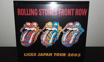 The ROLLING STONES : Front Row (Japan 12CD Box-set) Licks Japan Tour 2003 VGP