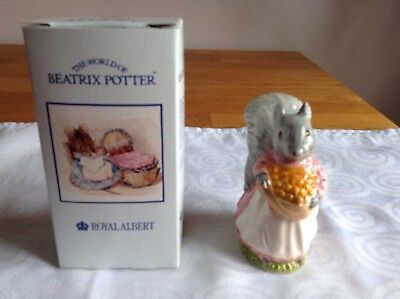 Beatrix Potter Figures By Royal Albert Goody Tiptoes