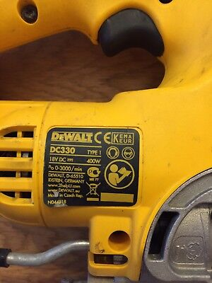 dewalt 18v Jigsaw.bare Body.no Batteries.Model Type:dc330