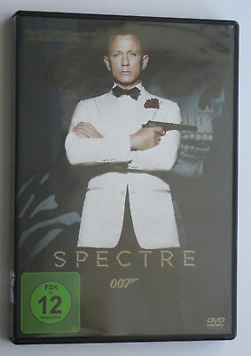 James Bond 007 - Spectre - Daniel Craig - DVD wie neu