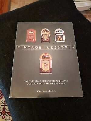 Vintage Jukeboxes Collectors Guide Christopher Pearce 2002 Book
