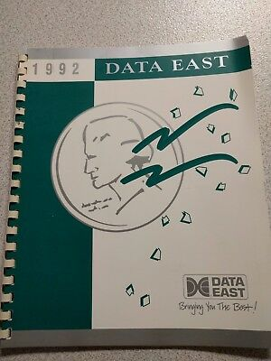 1992 Data East Catalog -Star wars - Lethal Weapon