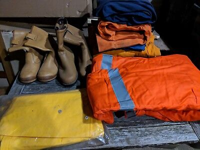 Various Overalls / workboots (some NEW some used)