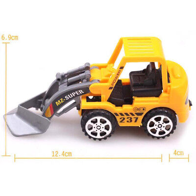 Play Engineering Vehicle Model Free Wheel Plastic Diecast For Kids Toy Car Gift
