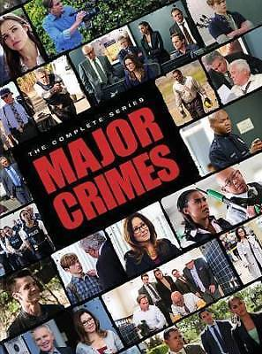 Major Crimes:The Complete Series(DVD,24-Disc Set,2018,Seasons 1-6)NEW Closer