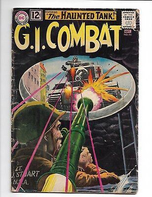 G.I. Combat #95 (1963) - Check Scans, Good Condition!!!