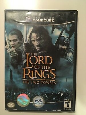 Lord of the Rings: The Two Towers (Nintendo GameCube) COMPLETE