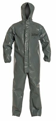 DuPont Tychem Thermopro Hooded Coveralls Size 3X  TP199TGYLG0002BN Gray 6000 FR