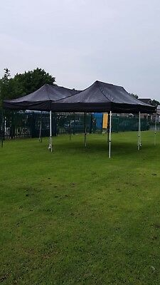 Heavy duty surf and turf 6 x 3 commercial pop up gazebo