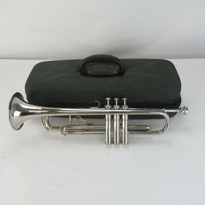Tristar Silver Coloured Trumpet - Includes Hard Carry Case - Spares or Repairs