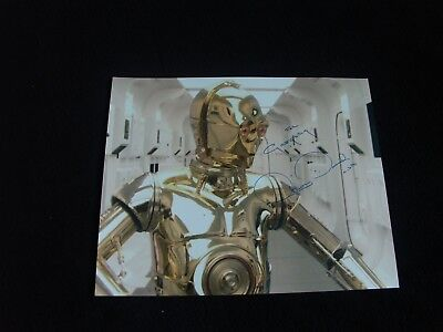Star Wars : Autograph Anthony Daniels / C-3Po
