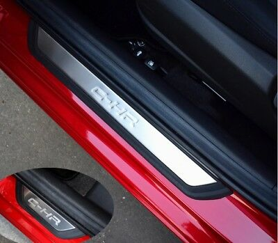 Toyota CHR Door sills protection cover Plates Scuff