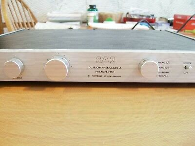 Perreaux Sa2 Stereo Preamplifier With Phono Very Good Condition.