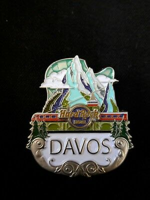 Hard Rock Hotel Davos Core Icon Pin