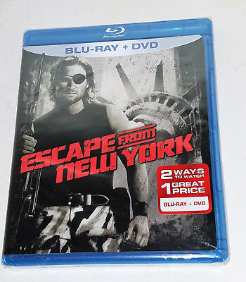 Escape From New York Brand New (Blu Ray 2-Disc Set) Action Cult Thriller Oop