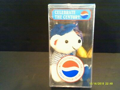 Pepsi Century Collectible Bear Limited Edition. Factory sealed.