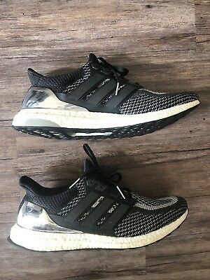 Adidas UltraBOOST 2.0 LTD Silver Medal BB4077 Men's Ultra Boost Shoes Rare 13