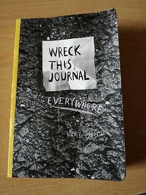 Wreck This Journal Everywhere book