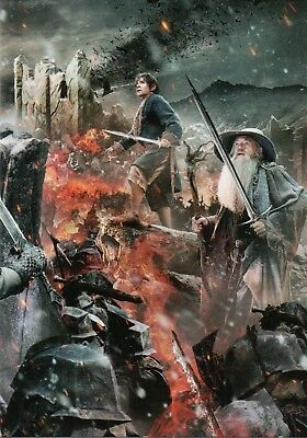 The Hobbit The Battle Of The Five Armies, NSU Magazine Promo Card P9
