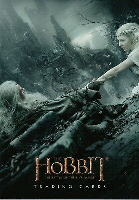 The Hobbit The Battle Of The Five Armies, NSU Magazine Promo Card P11
