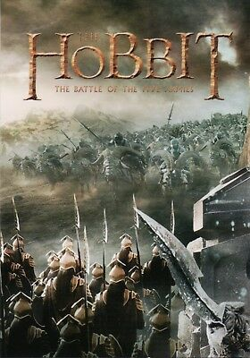 The Hobbit The Battle Of The Five Armies, NSU Magazine Promo Card P7