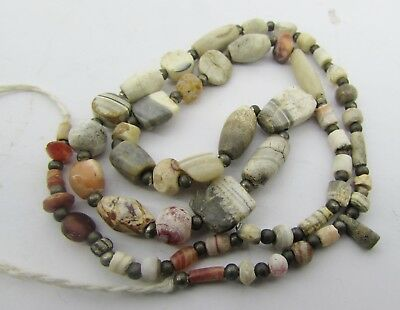 Ancient 55 tiny Sulemani and Mix agate rare beads from Afghanistan.