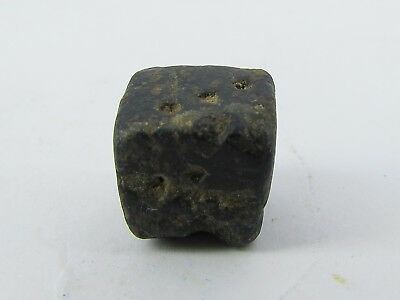 Ancient etched Dice of Mohenjo-daro period. A rare dice from Pakistan