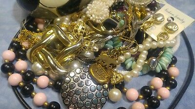 Lot of Vintage to Now Nice, All Wearable Jewelry~ See Photos!