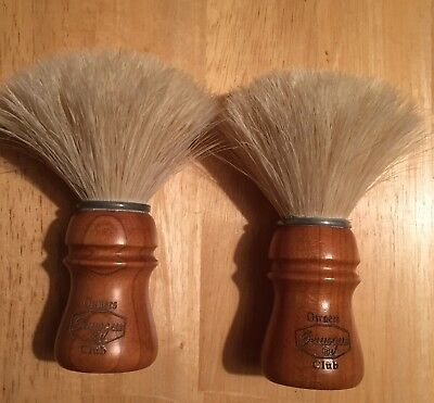 Semogue Owners Club Shave Brushes X2 Cherry Wood Handle