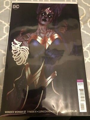 Wonder Woman #57 Frison Variant First Print Dc Comics (2018) Witching Hour Pt.4