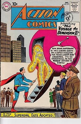 Action Comics (Vol 1) #271  Dec 1960 (Grade FN- 5.5) DC Comics