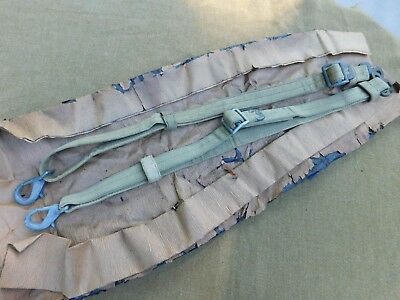 Original Wwii U.s. Jeep Door Safety Straps Pair Unissued Ford Gpw Willys Mb