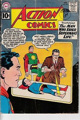 Action Comics (Vol 1) #281  Dec 1960 (Grade Good/Fair) DC Comics