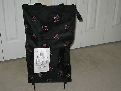 Scottie Tote on Wheels, Sarah B Studio, New with tags