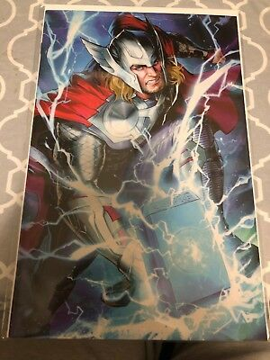 Thor #6 (2018) Battle Lines Variant Cover, Sujin Jo, Aaron, Ward, Marvel, Nm