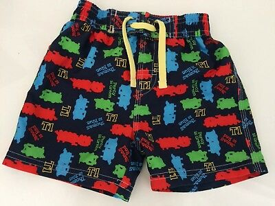 Thomas The Tank Engine Marks And Spencer Swimming Shorts 1-2 Years