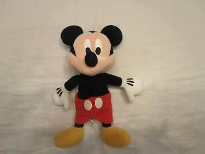 Mickey Mouse 12' Plush Stuffed Doll Toy Beanie Kids Baby Disney Parks