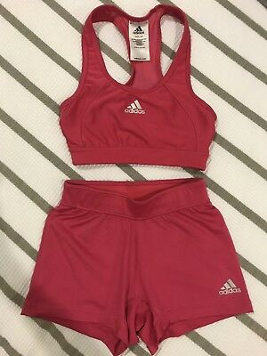 Adidas Kids/adults Crop Top And Shorts