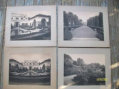 Rare 4 Antique Original Vintage Carrère & Hastings Architectural B&W photographs