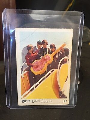 Monkees English Gum Card Small Size No 30