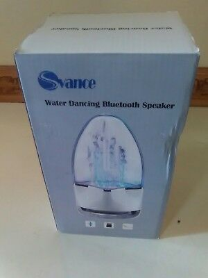 Svance Dancing Water Speaket Portable Wireless Bluetooth Speaker