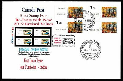 NEW 2019 KIOSK Computer Stamp THOMPSON FDC - CDN Picture Postage